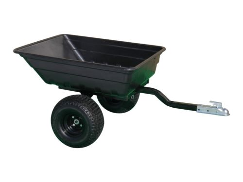 ATV farm trailer poly dump trailer