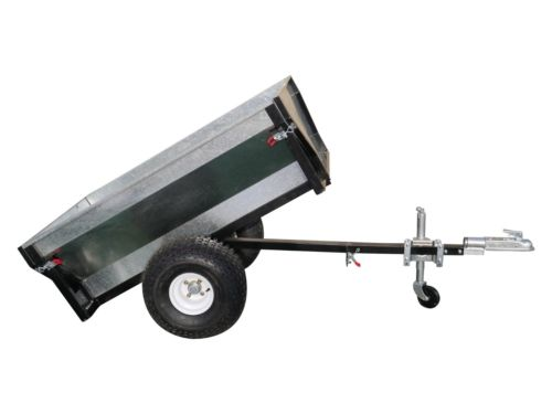 Heavy Duty Steel ATV dump trailer